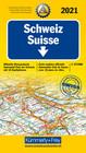 SZWAJCARIA 2021 mapa samochodowa 1:275 000 KUMMERLY+FREY (1)