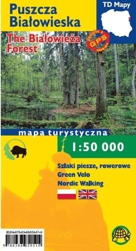 PUSZCZA BIAŁOWIESKA mapa turystyczna 1:50 000 TD 2020 (1)
