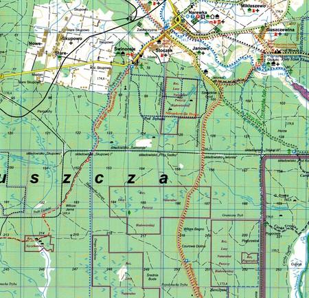 PUSZCZA BIAŁOWIESKA mapa turystyczna 1:50 000 TD 2020 (3)