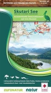 JEZIORO SZKODERSKIE SKADAR LAKE mapa turystyczna HUBER (1)