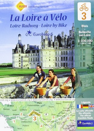 EUROVELO 6 BAZYLEA - ATLANTYK komplet map rowerowych 1:100 000 HUBER (6)