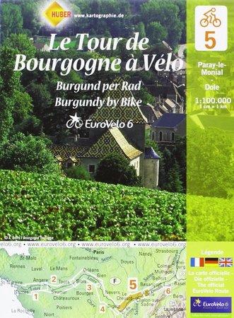 EUROVELO 6 BAZYLEA - ATLANTYK komplet map rowerowych 1:100 000 HUBER (7)