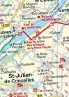 EUROVELO 6 BAZYLEA - ATLANTYK komplet map rowerowych 1:100 000 HUBER (3)