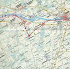EUROVELO 6 BAZYLEA - ATLANTYK komplet map rowerowych 1:100 000 HUBER (4)