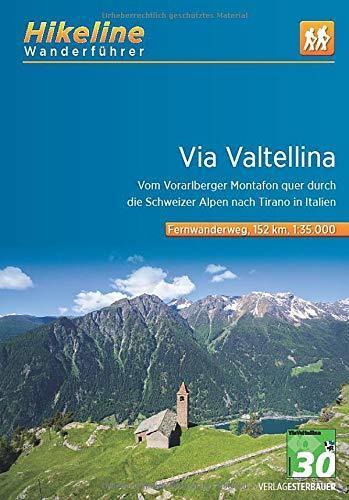 VIA VALTELLINA 1:35 000 mapa rowerowa BIKELINE (1)