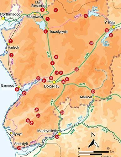 SNOWDONIA: 30 Low-level and easy walks - South przewodnik CICERONE 2020 (2)