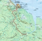 GUJANA / GUJANA FRANCUSKA mapa 1:400 000 IGN (2)