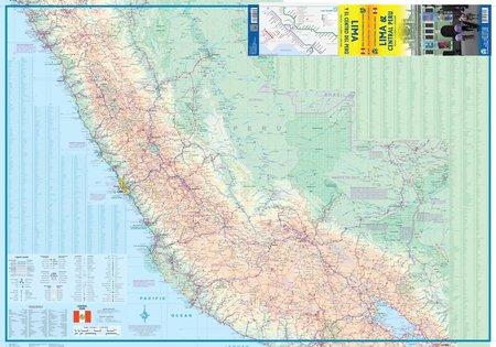 LIMA I CENTRALNE PERU mapa 1:1 500 000 ITMB 2016 (4)
