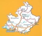 PROWANSJA / ALPY / LAZUROWE WYBRZEŻE mapa 1:200 000 MICHELIN 2021 (2)