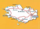 BRETANIA mapa 1:200 000 MICHELIN 2021 (2)