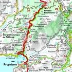 KORSYKA mapa 1:200 000 MICHELIN 2021 (5)