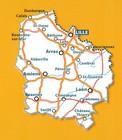 NORD-PAS-DE-CALAIS I PIKARDIA mapa 1:200 000 MICHELIN 2021 (3)
