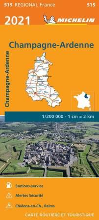 SZAMPANIA ARDENY mapa 1:200 000 MICHELIN 2021 (1)
