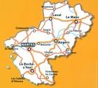 KRAJ LOARY mapa 1:200 000 MICHELIN 2021 (2)