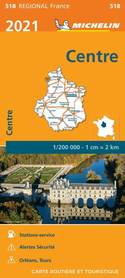 REGION CENTRALNY CENTRE mapa 1:200 000 MICHELIN 2021