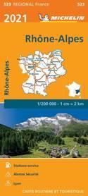 RODAN - ALPY mapa 1:200 000 MICHELIN 2021