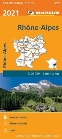 RODAN - ALPY mapa 1:200 000 MICHELIN 2021 (1)
