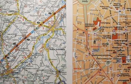 MIDI-PYRENEES mapa 1:200 000 MICHELIN 2021 (6)