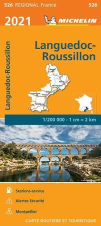 LANGWEDOCJA ROUSSILLON mapa 1:200 000 MICHELIN 2021 (1)