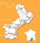 LANGWEDOCJA ROUSSILLON mapa 1:200 000 MICHELIN 2021 (3)
