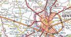 KRAJE BENELUKSU mapa 1:400 000 MICHELIN 2021 (2)