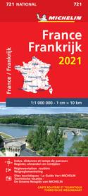 FRANCJA mapa 1:1 000 000 MICHELIN 2021
