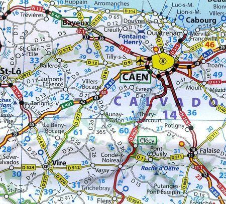 FRANCJA mapa wodoodporna 1:1 000 000 MICHELIN 2021 (2)