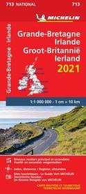 WIELKA BRYTANIA IRLANDIA mapa 1:1 000 000 MICHELIN 2021