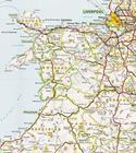 WIELKA BRYTANIA IRLANDIA mapa 1:1 000 000 MICHELIN 2021 (2)