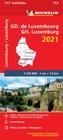 LUKSEMBURG mapa samochodowa 1:150 000 MICHELIN 2021 (1)