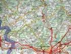 LUKSEMBURG mapa samochodowa 1:150 000 MICHELIN 2021 (3)