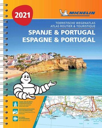 HISZPANIA PORTUGALIA atlas samochodowy MICHELIN 2021 (1)