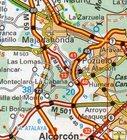 HISZPANIA PORTUGALIA atlas samochodowy MICHELIN 2021 (3)