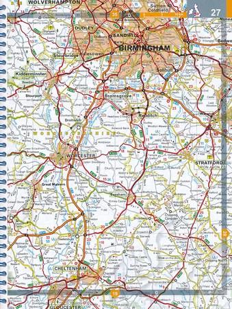 WIELKA BRYTANIA I IRLANDIA atlas samochodowy MICHELIN 2021 (4)
