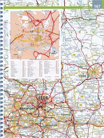 WIELKA BRYTANIA I IRLANDIA atlas samochodowy MICHELIN 2021 (5)