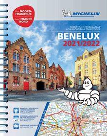 BENELUX atlas samochodowy 1:150 000 MICHELIN 2021