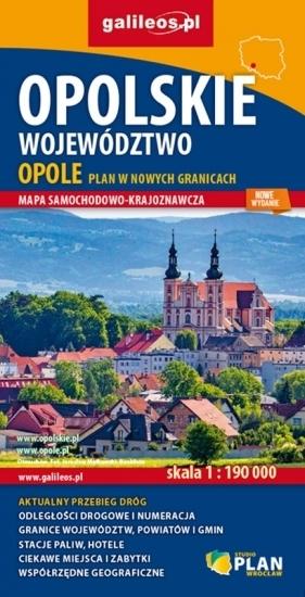 OPOLSKIE mapa 1:190 000 OPOLE plan miasta STUDIO PLAN 2021 (1)