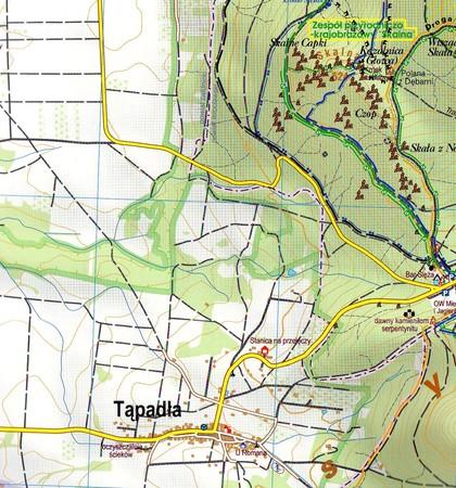 MASYW ŚLĘŻY SOBÓTKA mapa laminowana 1:25 000 STUDIO PLAN 2020 (4)
