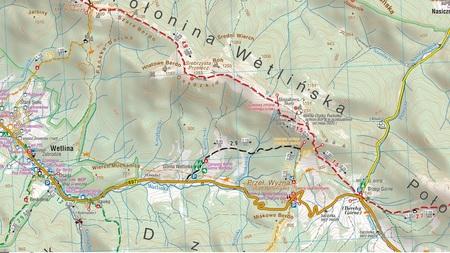 BIESZCZADY mapa turystyczna wodoodporna 1:50 000 COMPASS 2021 (4)