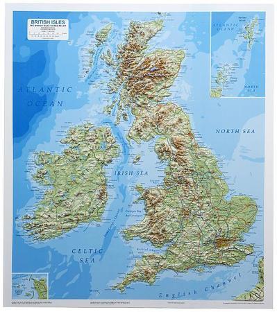 WYSPY BRYTYJSKIE mapa plastyczna DORRIGO (1)