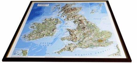 WYSPY BRYTYJSKIE mapa plastyczna DORRIGO (2)