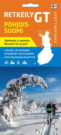 FINLANDIA PÓŁNOCNA Outdoor 1:400 000 mapa Karttakeskus