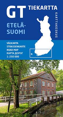 FINLANDIA POŁUDNIOWA 1:250 000 mapa Karttakeskus 2020