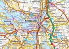 FINLANDIA POŁUDNIOWA 1:250 000 mapa Karttakeskus 2020 (5)