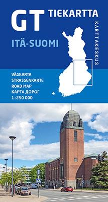 FINLANDIA WSCHODNIA 1:250 000 mapa Karttakeskus 2020