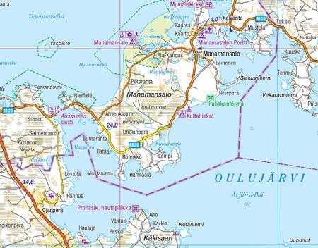 FINLANDIA WSCHODNIA 1:250 000 mapa Karttakeskus 2020 (6)