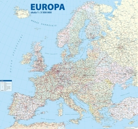 EUROPA mapa ścienna 1:3 500 000 STUDIO PLAN 2020