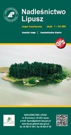 NADLEŚNICTWO LIPUSZ mapa turystyczna 1:50 000 EKOKAPIO