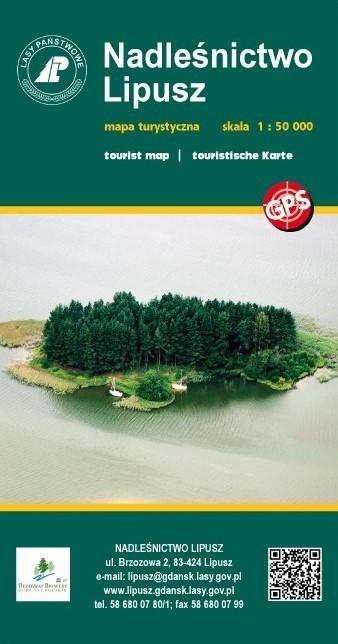 NADLEŚNICTWO LIPUSZ mapa turystyczna 1:50 000 EKOKAPIO (1)