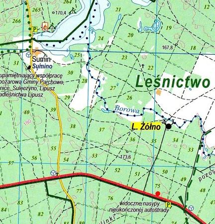 NADLEŚNICTWO LIPUSZ mapa turystyczna 1:50 000 EKOKAPIO (3)